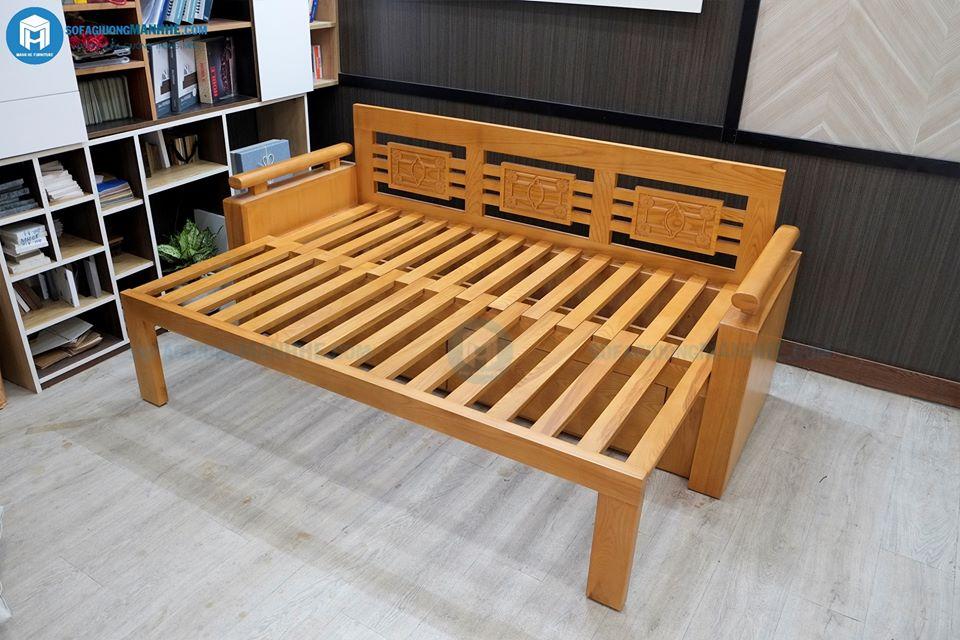 ghế sofa giường gỗ se01
