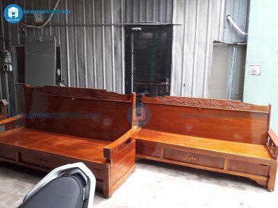 Ghế sofa kéo thành giường giá rẻ GR01 tiện dụng