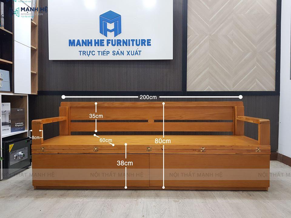Ghế giường 2 trong 1 là  sản phẩm nội thất đa năng