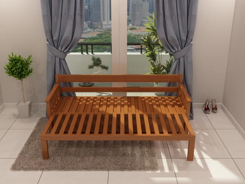 Mẫu ghế sofa kéo thành giường SE01