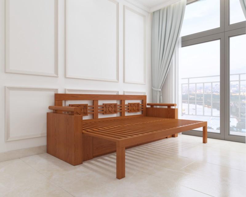 Ghế sofa giường Mạnh Hệ mang đến một không gian rộng rãi