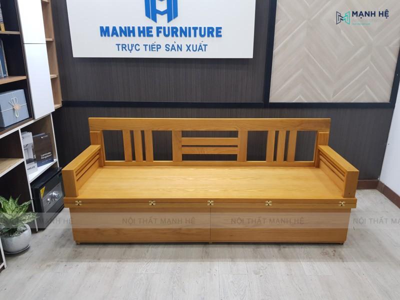 Một chiếc ghế Sofa giường gấp được thiết kế bởi Mạnh Hệ sẽ có thời gian sử dụng rất lâu