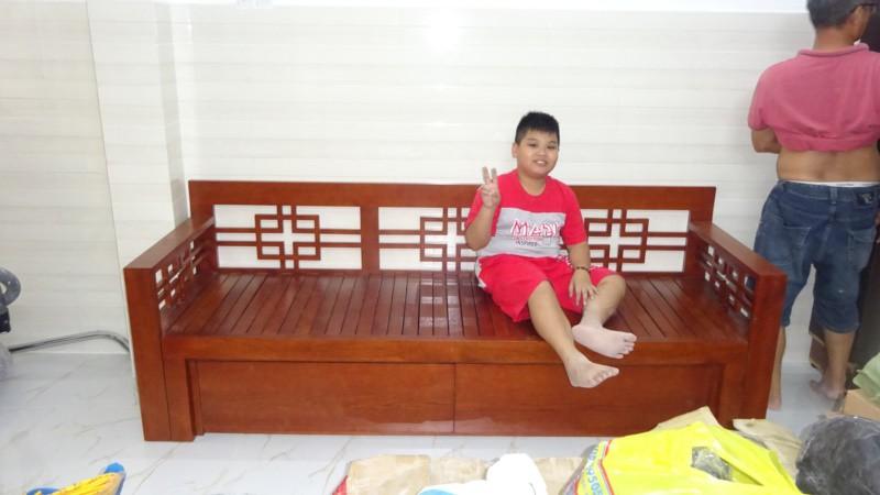 Hình ghế nhà khách mẫu VIP01