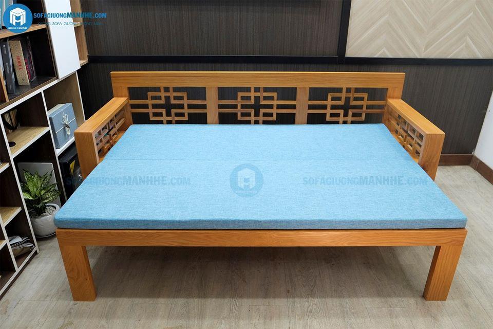 Trải thêm một tấm đệm là có thể nằm ngủ từ 2 - 3 người
