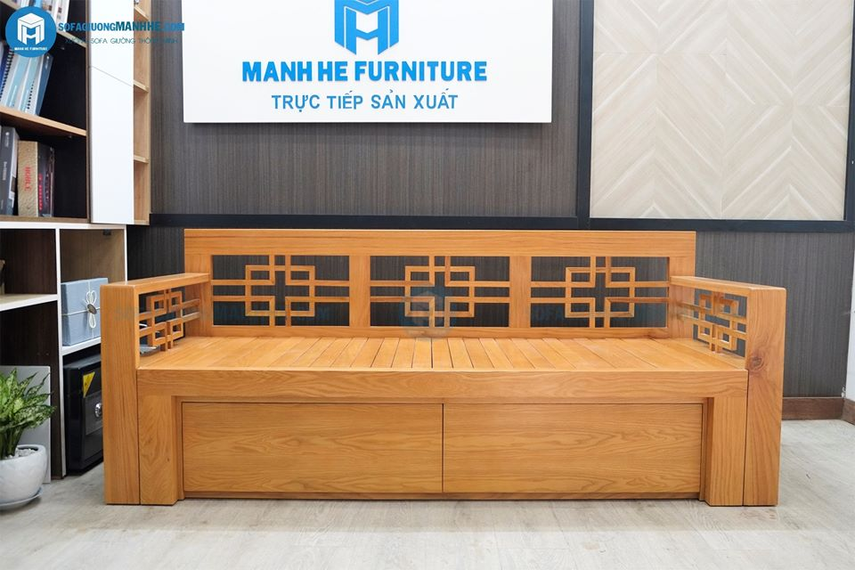 Ghế sofa giường gỗ đẹp - hiện đại ở mọi góc nhìn