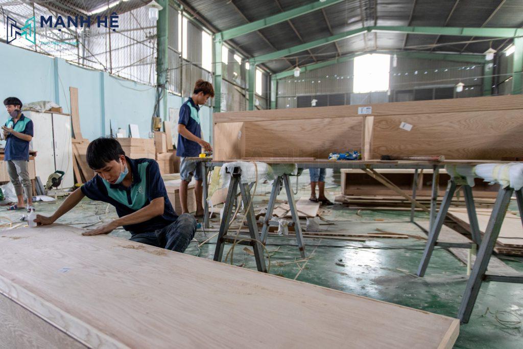 gỗ xoan đào và gỗ sồi