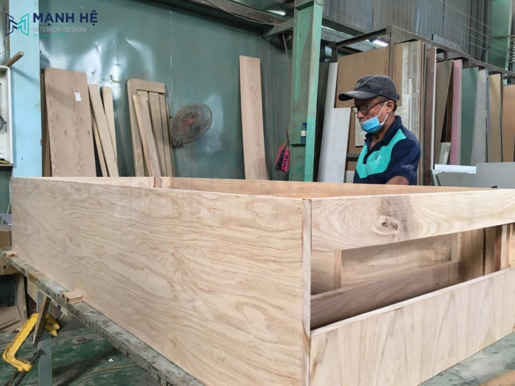 sofa giường gỗ tự nhiên